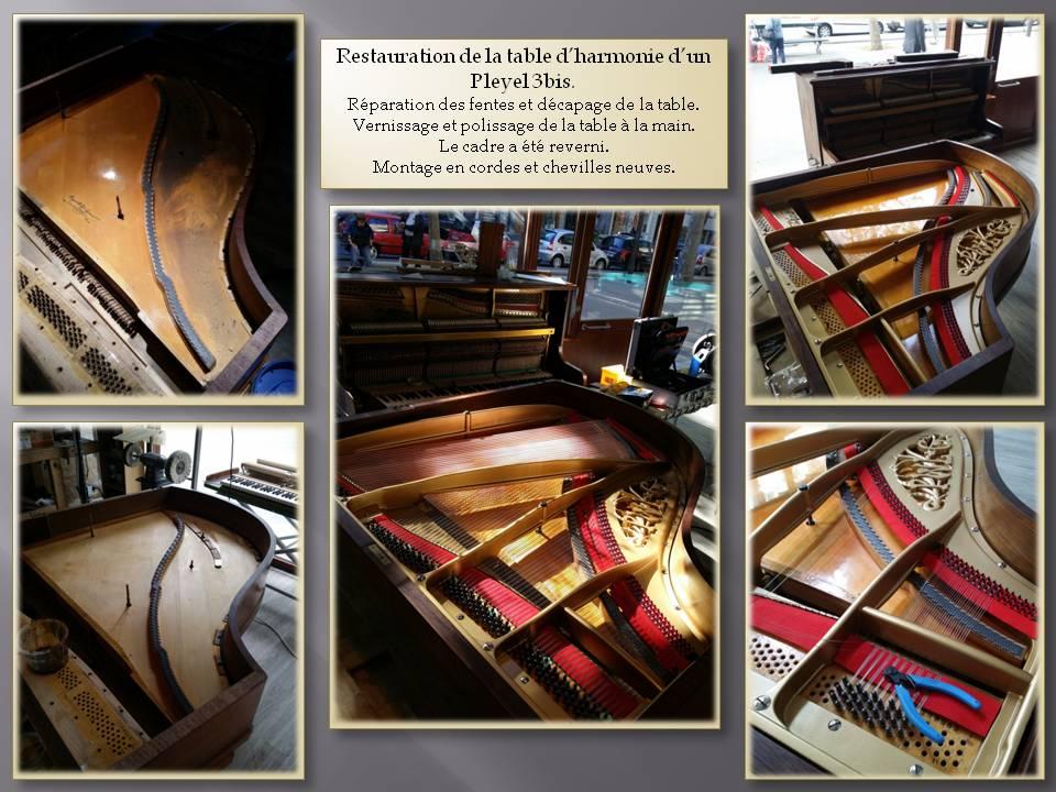 Piano à queue, pleyel, piano pleyel, accordeur de piano, piano restauré, restauration de piano ïle-de-France